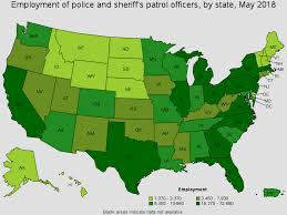 Pa State Police Salary Chart Police And Sheriffs Patrol Officers