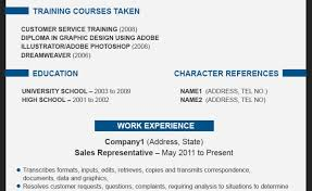 Latest Resume Format For Teachers Basic Service Contract