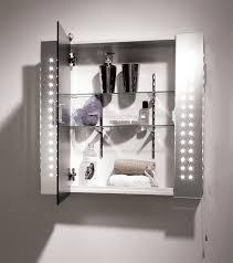 mirror design ideas beneath displays mirror bathroom cabinet with shaver socket performing surface morning ritual