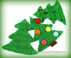 Crochet Christmas Tree Pattern Gorgeous Christmas Tree Crochet Pattern Free Crochet Pattern GoldenLucyCrafts