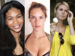 15 models without makeup