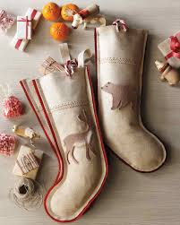 Handmade Christmas Stockings Handmade Christmas Stockings Martha Stewart