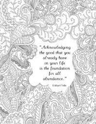 Printable Coloring Sheets For Adults Quotes About Life