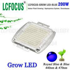 200 Watt Grow Light Us 57 9 200w High Power Led Chip Royal Blue 440nm 470nm Diode Cob Plant Growth Hydroponics For Diy 200 400 600 W Watt Led Grow Light In Light Beads