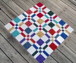 Google Image Result for http://scientificquilter.files.wordpress ... & Center of the Disappearing 4 patch sewn together. Adamdwight.com