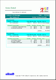 sales report example excel free excel report sample sales detail