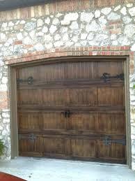 garage door wood look endearing and best metal doors ideas only diy reclaimed modern a