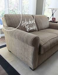 restuff attached couch cushions