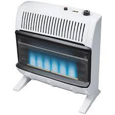 30 000 btu ventless blue flame wall heater