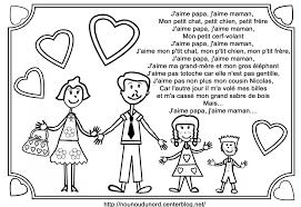 Coloriages Dessin Pour Papa Et Maman L