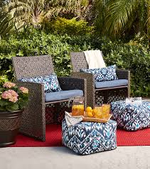 add a natural touch with wicker
