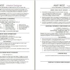 Interior Design Resume Examples Magnificent Interior Design Resume Sample Monster With Interior Designer