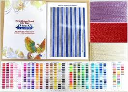 Floriani Deluxe Thread Color Chart Ftc360m 844050096053