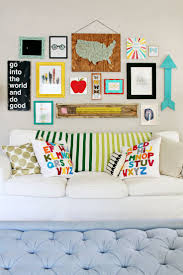 bold back to school gallery wall