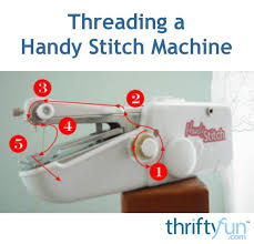 How To Thread Handheld Sewing Machine