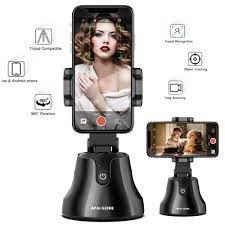APAI GENIE yüz izleme kamera akıllı çekim Selfie sopa 360 ° dönme nesne  izleme tutucu Gimbal Vlog Video kayıt Selfie Sticks