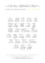 Cursive Alphabet Worksheets Odmartlifestyle Com