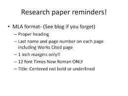 Ppt Research Paper Reminders Powerpoint Presentation Id4428595