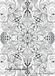 Fractal Coloring Pages Coloring Book Colors Of Calm Art Design For
