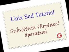 Unix Sed Tutorial: Find and Replace Text Inside a File Using RegEx