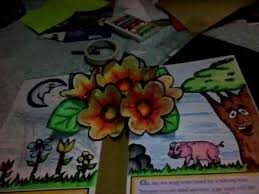 how to make a basic pop up book sle