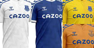This jersey is the official and authentic everton fc short sleeve team away shirt for 2018/2019 season designed and released by umbro. Classy Hummel Everton 20 21 Home Away 2 Alternative Kit Concepts Revealed Footy Headlines