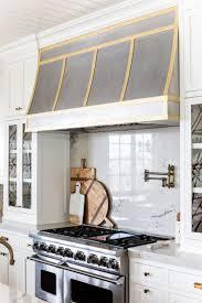 gas stove top cabinet. Smart Kitchen With Dacor Appliances Gas Range: Glass Door Cabinet Wood Range Hood Stove Top