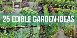 Small Picture Remodelaholic 25 Edible Garden Ideas