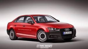 2016 Audi A4 Rendered in Base-Spec Trim, Instantly Becomes ...