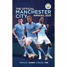 Manchester City FC Annual 2021 at Calendar Club