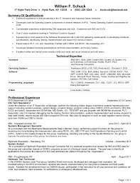 Gallery Of Resume Summary Of Qualifications Statement Resume Format