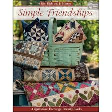 17 best Quilting Books For Sale images on Pinterest & Simple Friendships Quilt Book Reservation<br/>Kim Diehl and Jo Morton Adamdwight.com