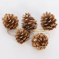 pine cone tree pendant hanging ornaments natural pine cone decoration party decor for home festival party dropc122 party decorations