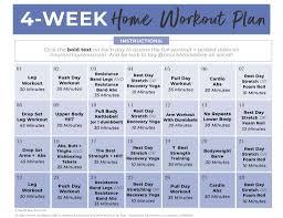 workout plan for women full body