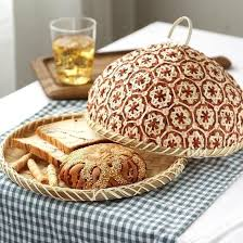 Rattan Kitchen Tray with Covers