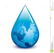 Free Droplet Water Droplet With Globe Stock Vector Illustration Of Drop 8533038