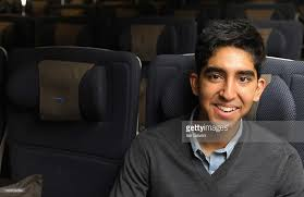 photos et images de british airways dreamliner launch getty slumdog millionaire actor dev patel relaxes in the new british airways boeing 777 300er in the