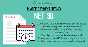 Legal Receipt Of Payment Best Net 48 And Other Invoice Payment Terms InvoiceBerry Blog