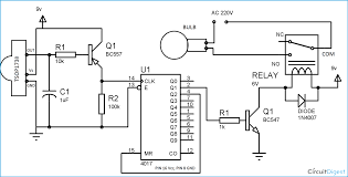 remote controlled switch circuit diagram circuit diagram remote control ceiling fan circuit diagram of remote controlled