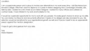 cover letter for interior designer cover letter interior designer
