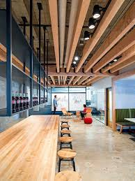 uber office design studio oa. Decorative Ceiling With Wooden Beams Yelp Staff Accommodation In San Francisco Uber Office Design Studio Oa