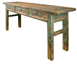 recycled wooden furniture. furniture old recycled wooden table featuring rectangular top apron with drawer and i