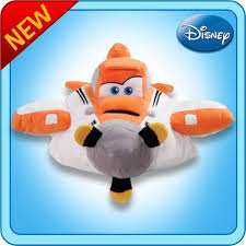 you have found one large dusty plane approx 18 x18 guaranteed original disney licensed my pillow pets usps shipping only 5 00 as seen on tv