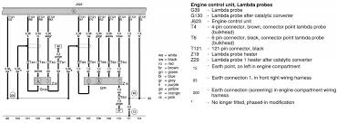 help electrical diagram of o sensors to ecu needed for audi b this circuit also comes in at track 103 both feeds being for the lambda sensor heaters