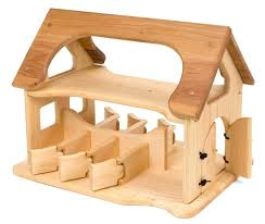 wooden toy horse barn enlarge view kits