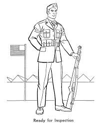 Army Guy Coloring Pages At Getdrawingscom Free For Personal Use