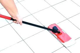 mopping ceramic tile floors with vinegar best mop for and grout to clean way