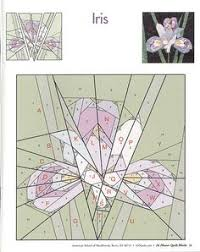 Paper Piecing Flower 187 Best Paper Piecing Flowers And Leaves Images Quilt Blocks