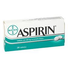 wie schnell wirkt aspirin