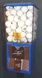 Tennis Ball Vending Machine Magnificent Ping Pong Ball Vending Machines Gumball Machines Direct